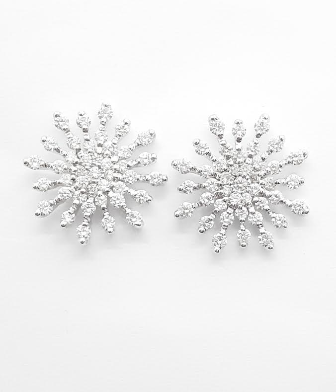 Sensi joyas jewellery Granada silver engagementDIAMONDS EARRINGS