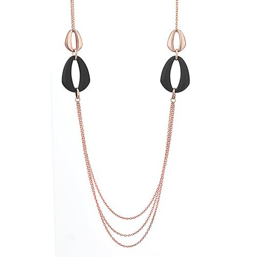 Sensi joyas jewellery Granada silver engagementSILVER AND ACRYLIC  NECKLACE