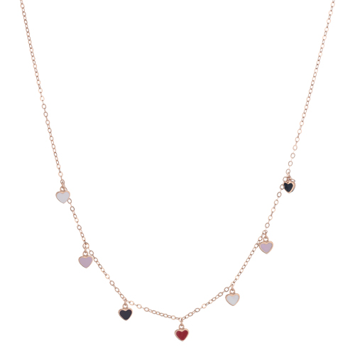 Sensi joyas jewellery Granada silver engagementSILVER  PENDENT COVERED WITH ROSE GOLD