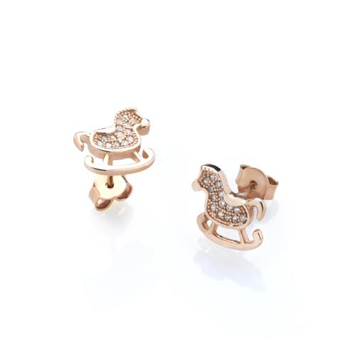 Sensi joyas jewellery Granada silver engagementROSE GOLD COVERED SILVER EARRINGS AND  CIRCONITES