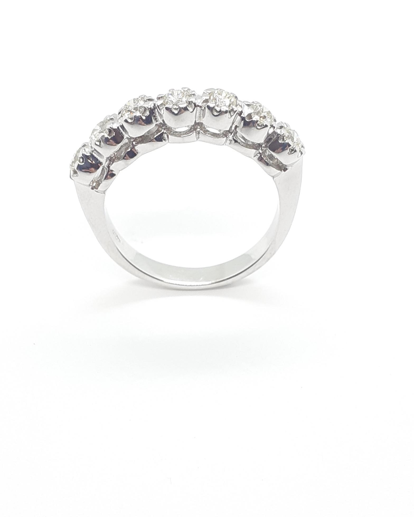Sensi joyas jewellery Granada silver engagementDIAMONDS  RING  0,50 CTS