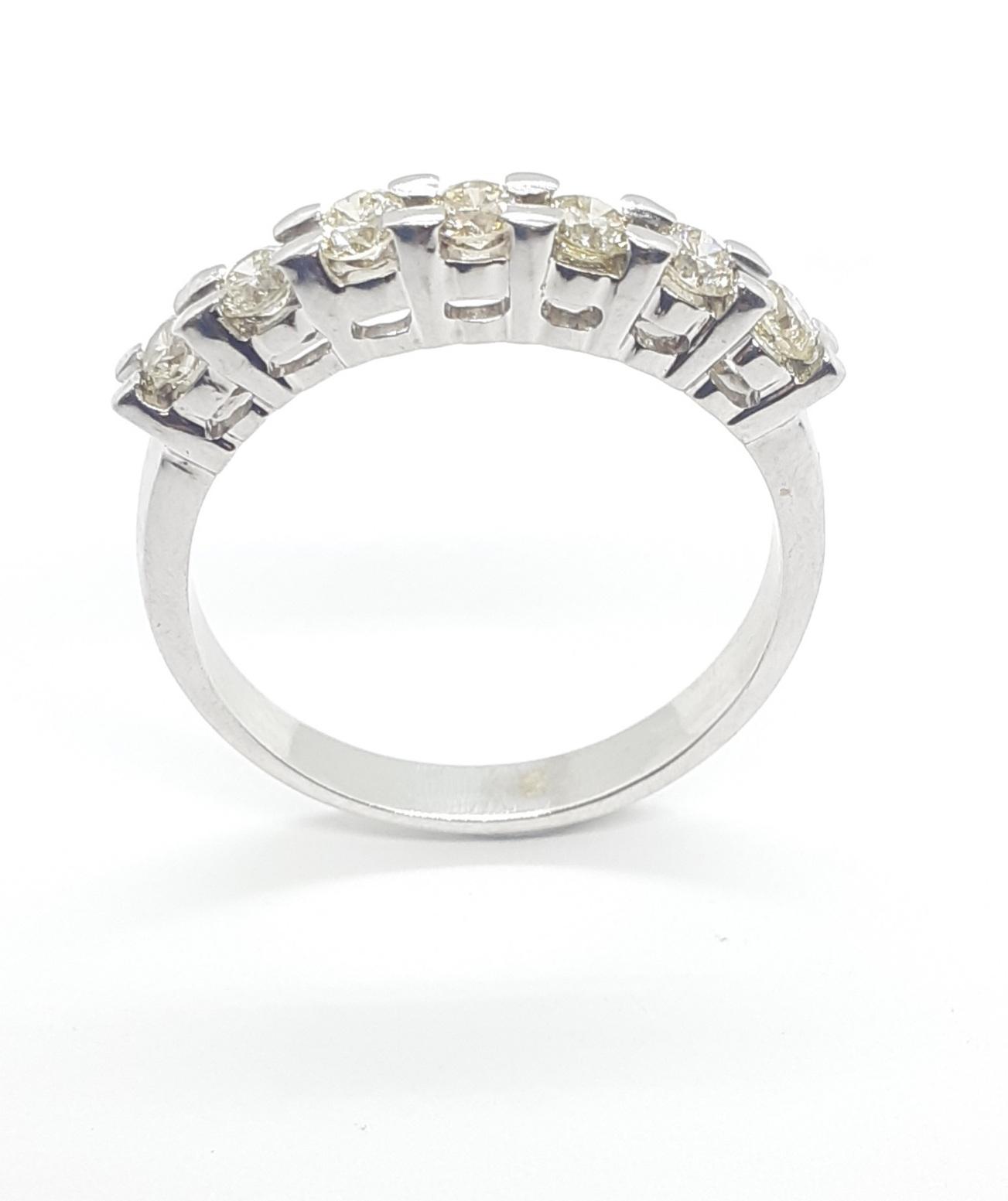 Sensi joyas alta joyería Granada plata compromiso ANILLO ORO 18K  BRILLANTES  0,56 CTS