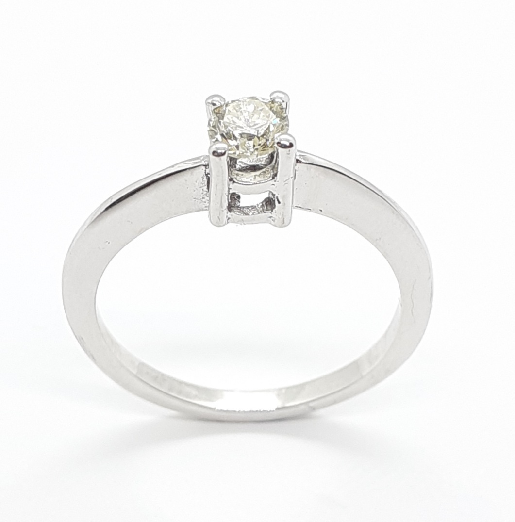 Sensi joyas jewellery Granada silver engagementDIAMONDS  RING  0,25 CTS