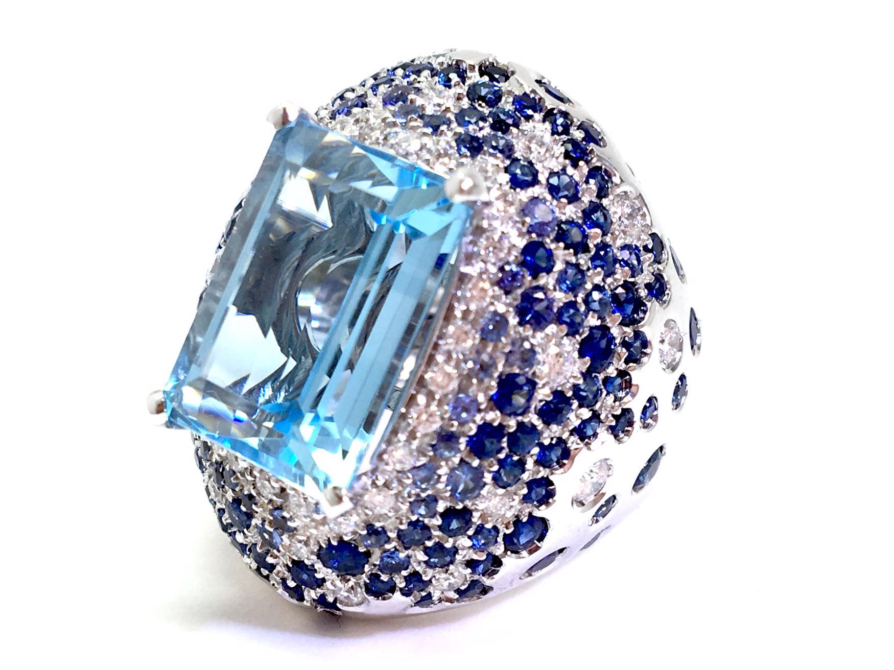 Sensi joyas alta joyería Granada plata compromiso ANILLO ORO BLANCO  18K BRILLANTES  1,60 CTS