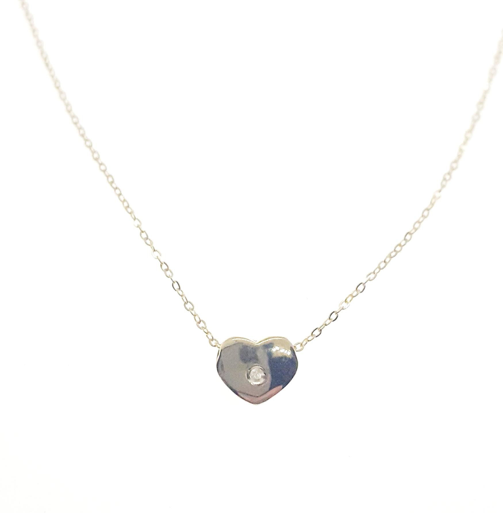 Sensi joyas jewellery Granada silver engagement18K GOLD AND  DIAMOND PENDANT