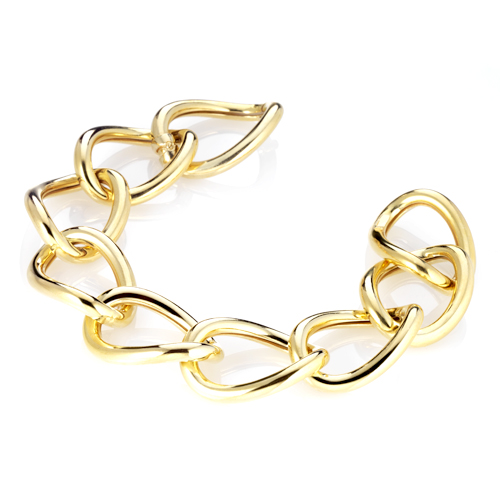 Sensi joyas jewellery Granada silver engagementSILVER BRACELET WITH  GOLD COATING