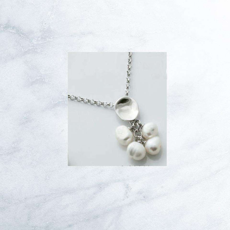 Sensi joyas jewellery Granada silver engagementSILVER PENDANT AND CULTURED PEARLS