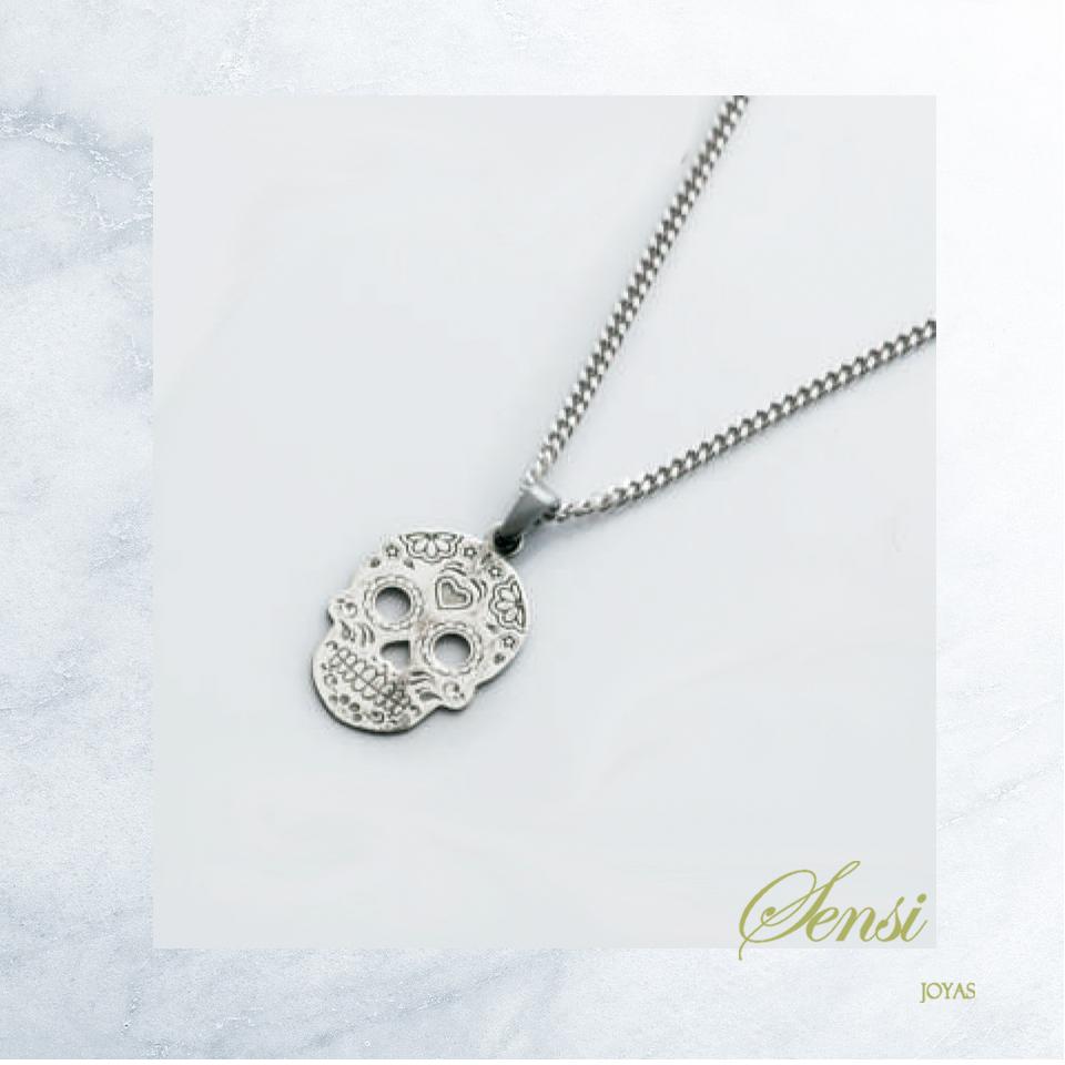 Sensi joyas jewellery Granada silver engagementCALABERA 925 ML SILVER NECKLACE