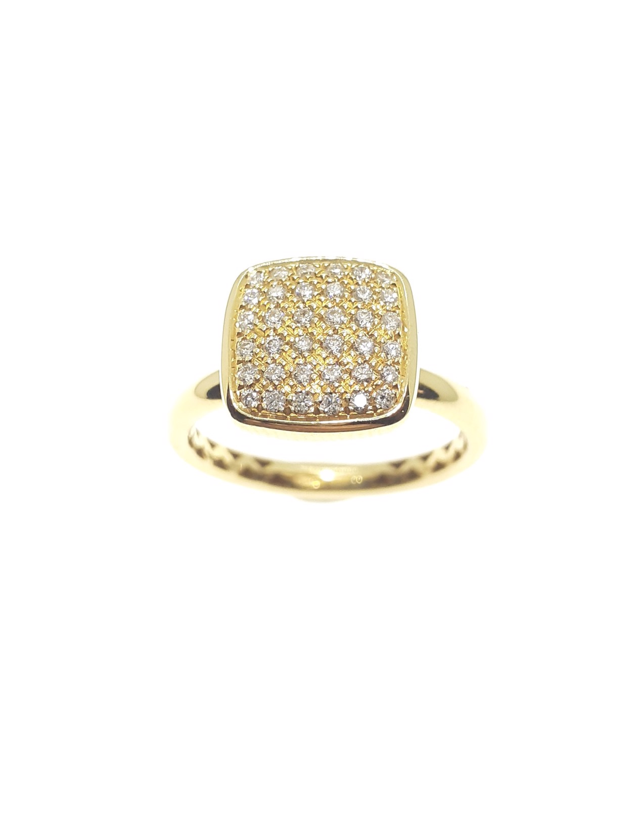 Sensi joyas high top jewellery Granada silver engagementYellow Gold