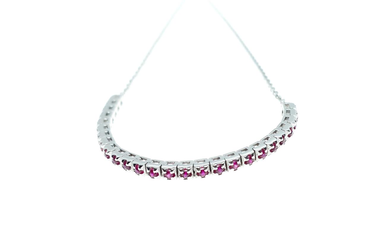 Sensi joyas jewellery Granada silver engagementRUBY BRACELET
