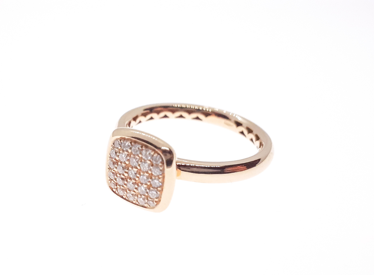 Sensi joyas high top jewellery Granada silver engagementRose Gold