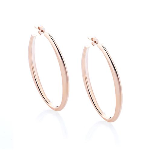 Sensi joyas jewellery Granada silver engagementSILVER EARRINGS COVERED ROSE GOLD