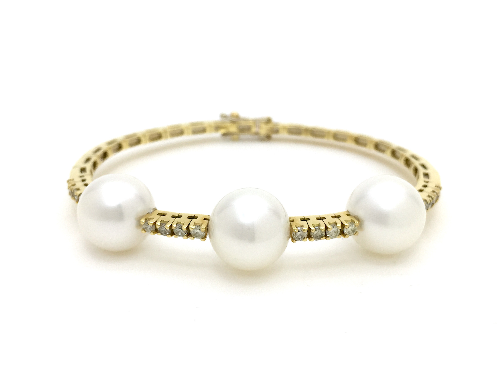 Sensi joyas jewellery Granada silver engagementDIAMONDS AND CULTURED PEARL BRACELET