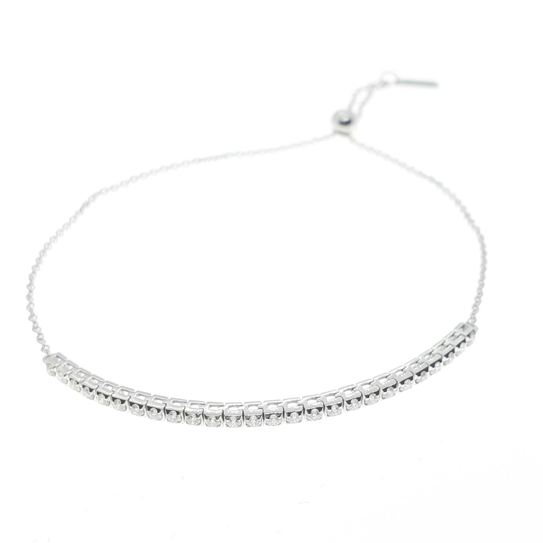 Sensi joyas alta joyería Granada plata compromiso PULSERA ORO 18K  BRILLANTES  0,16 CTS