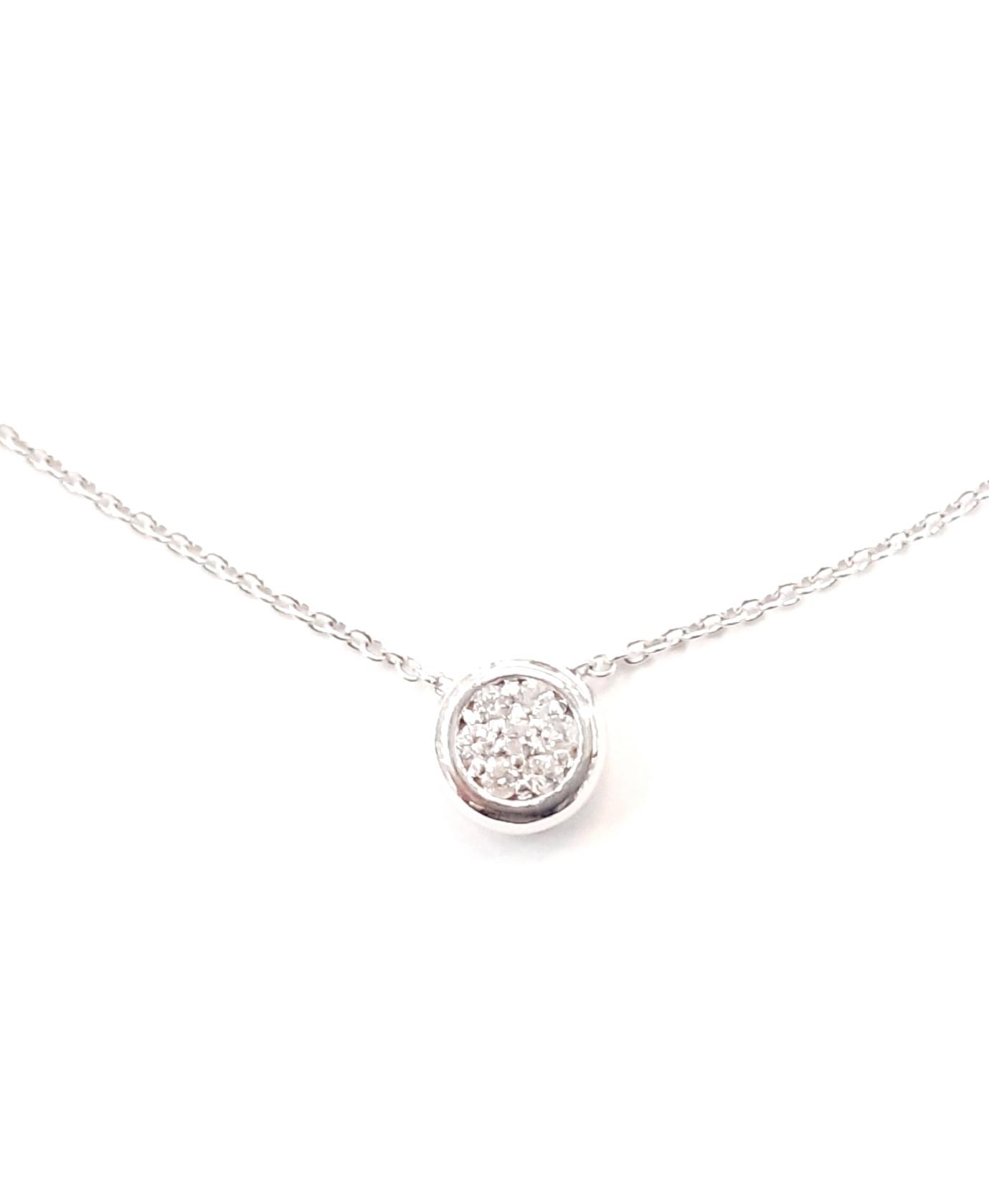 Sensi joyas jewellery Granada silver engagementDIAMONDS  GOLD PENDANT