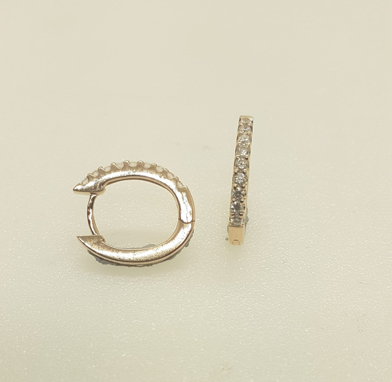 Sensi joyas jewellery Granada silver engagementDIAMONDS EARRINGS ROSE