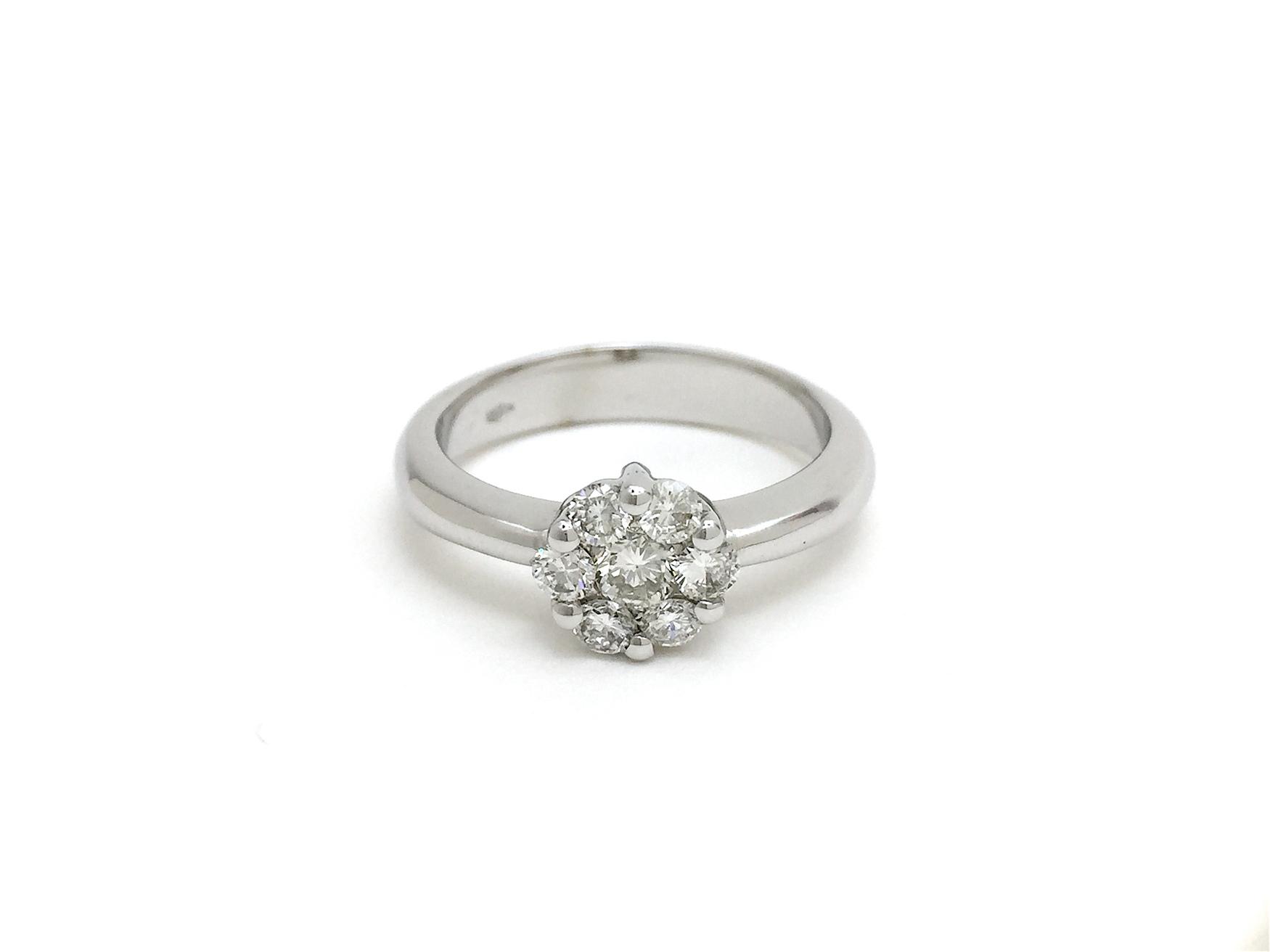 Sensi joyas jewellery Granada silver engagementDIAMONDS  RING