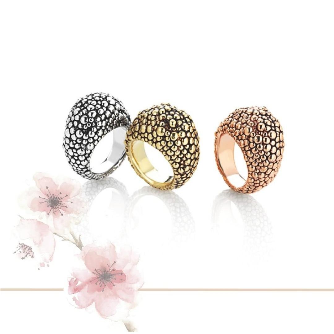 Sensi joyas jewellery Granada silver engagementSILVER RING COVERED WITH  GOLD