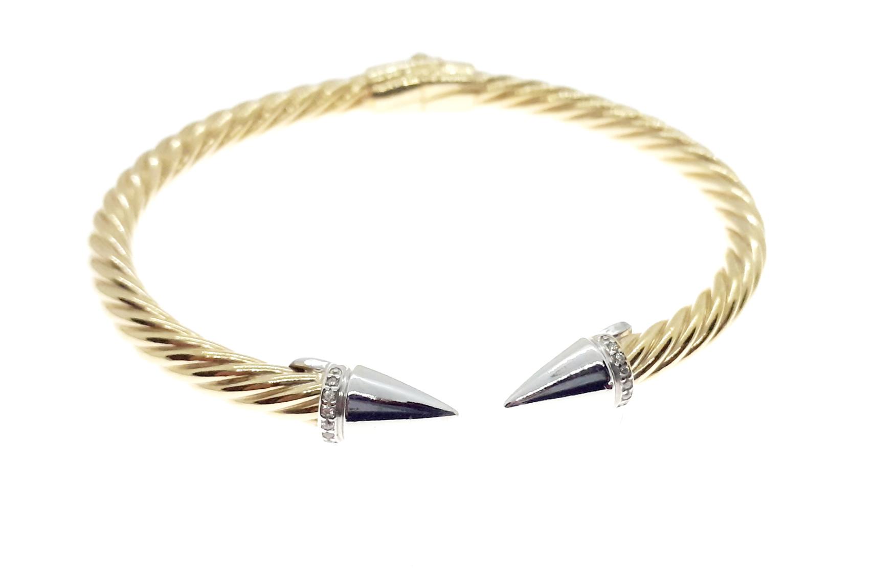 Sensi joyas jewellery Granada silver engagementSILVER BRACELET GOLD COATING